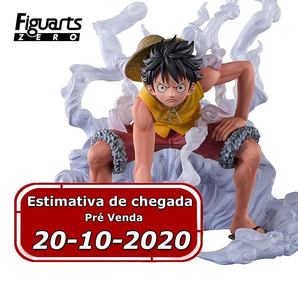 (RESERVA 10% DO VALOR) One Piece Monkey D. Luffy Extra Battle Paramount War Figuarts ZERO