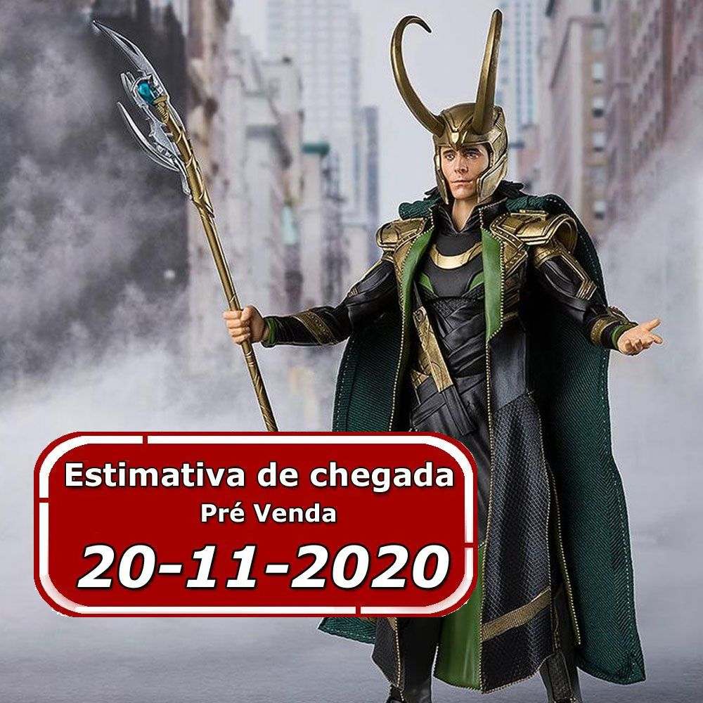 (RESERVA 10% DO VALOR) S.H. Figuarts Loki Avengers Tamashii Nations
