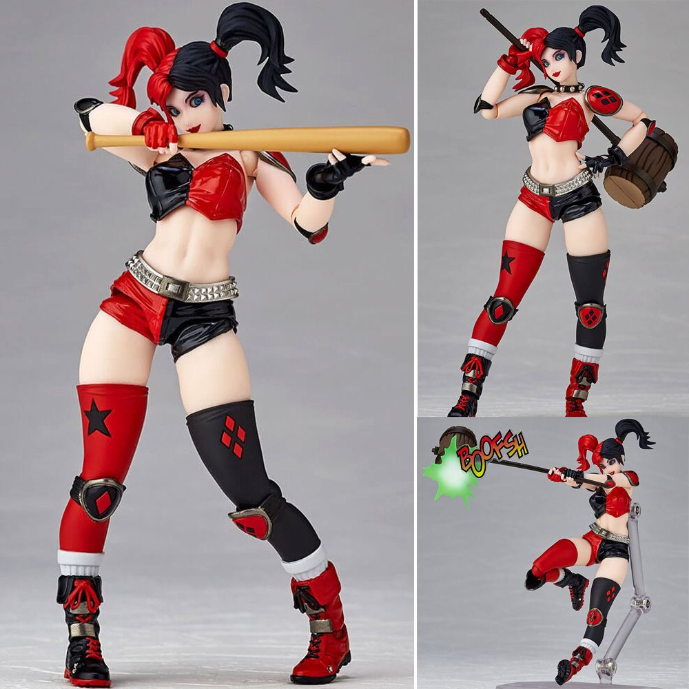 Revoltech Harley Quinn Amazing Yamaguchi DC Action Figure