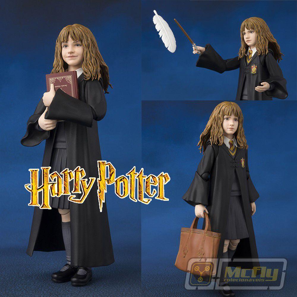 S.H Figuarts Hermione Granger Harry Potter e a Pedra Filosofal ACTION FIGURE