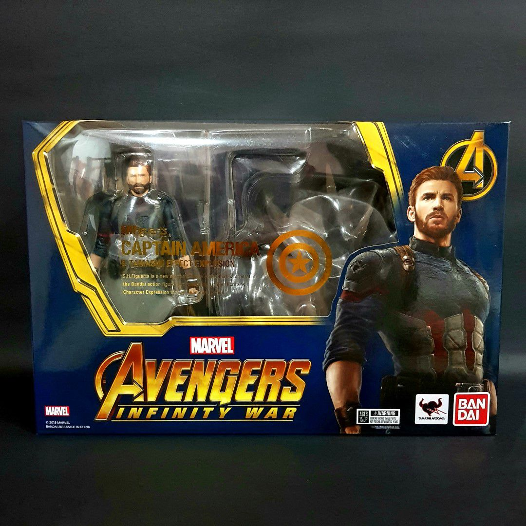 S.H Figuarts Infinity War Captain America Explosion Effect