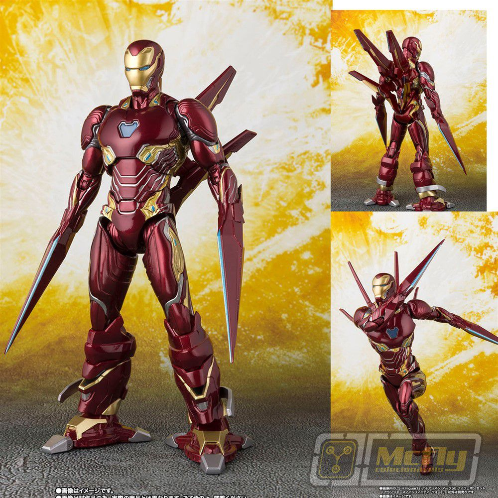 S.H.FIGUARTS IRON MAN MARK 50 NANO WEAPON SET INFINITY WAR