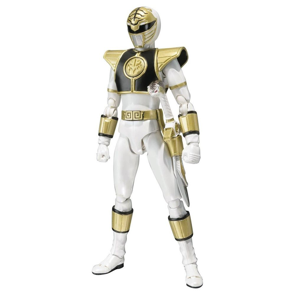 S.H.FIGUARTS POWER RANGERS WHITE RANGER 25TH