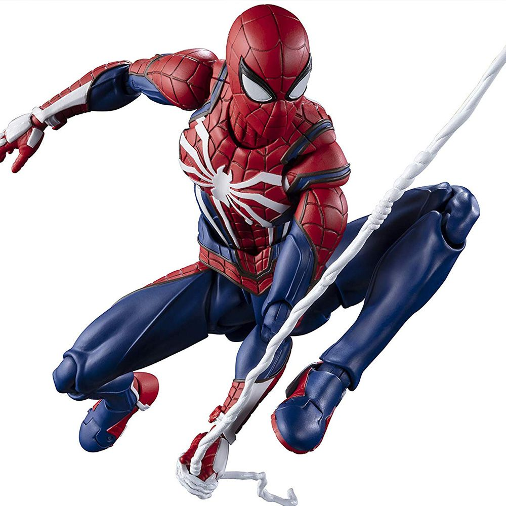 S.H FIGUARTS SPIDER MAN ADVANCED SUIT GAME