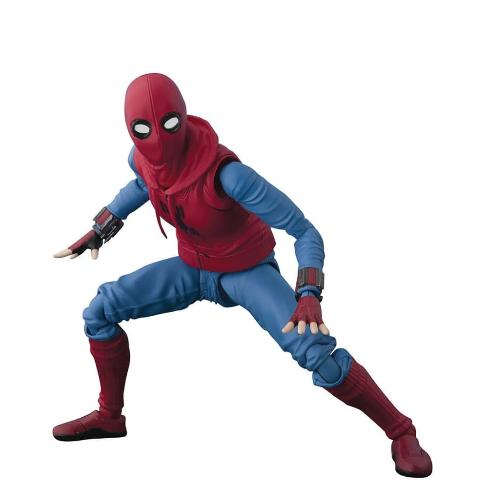 S.H.FIGUARTS SPIDER MAN HOME MADE SUIT ACT WALL