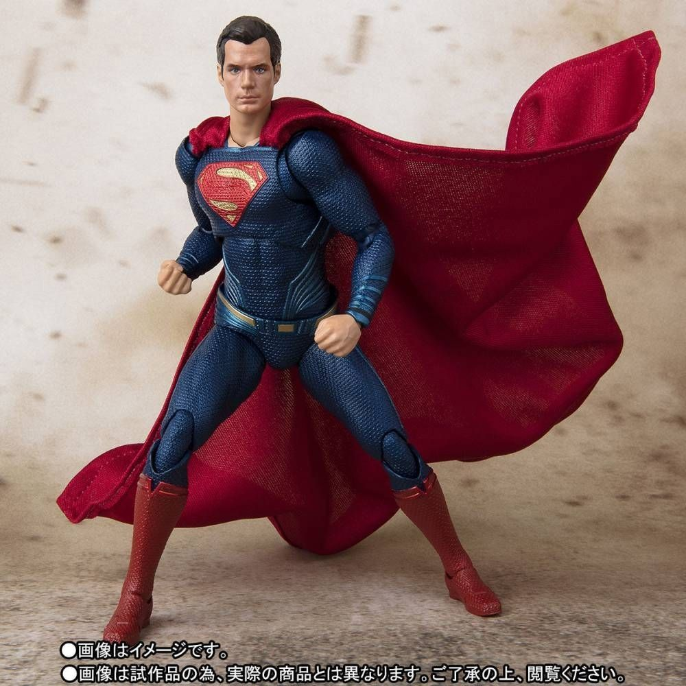 S.H.FIGUARTS SUPERMAN JUSTICE LEAGUE