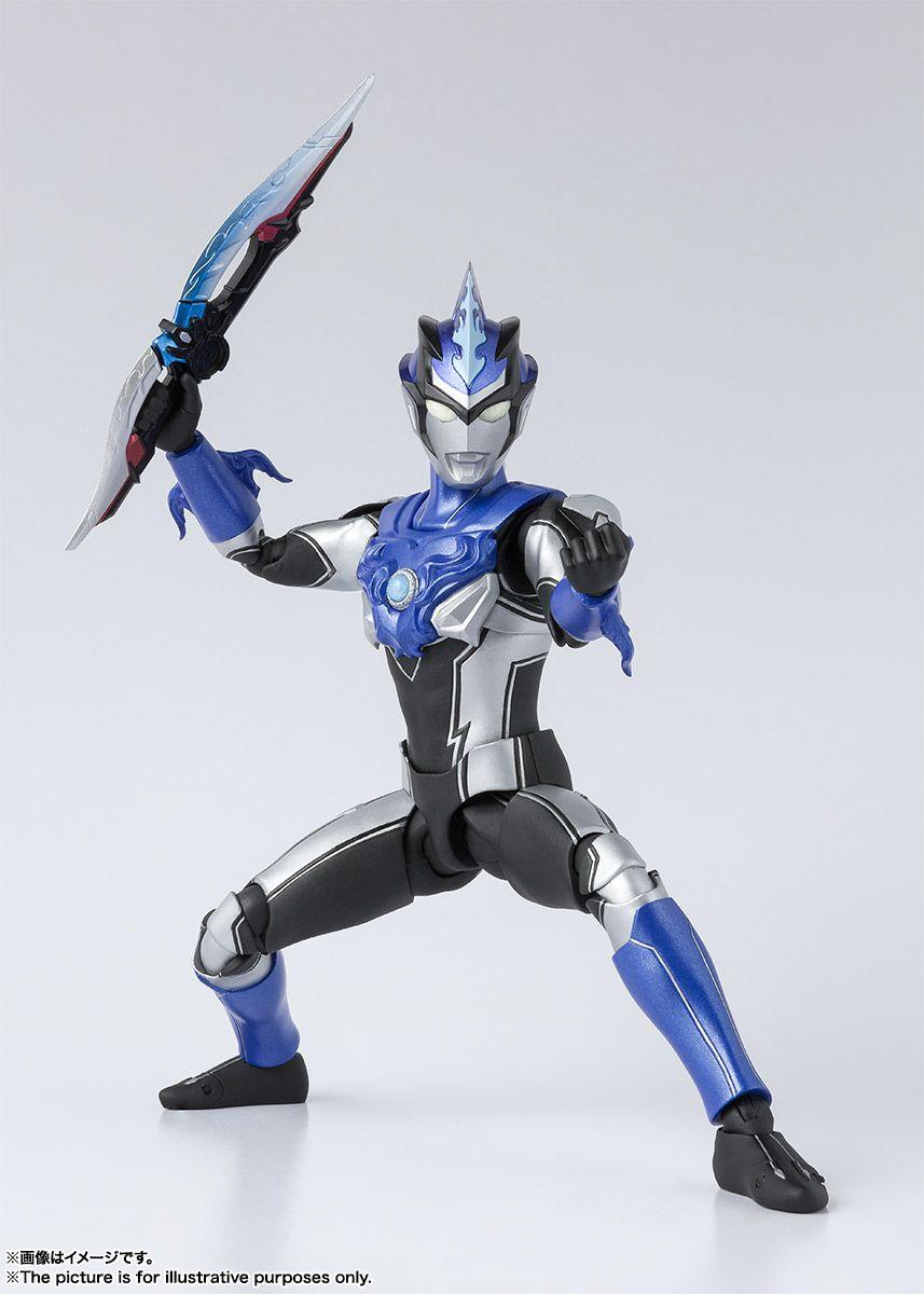 S.H Figuarts Ultraman Blu Aqua Bandai Action Figure