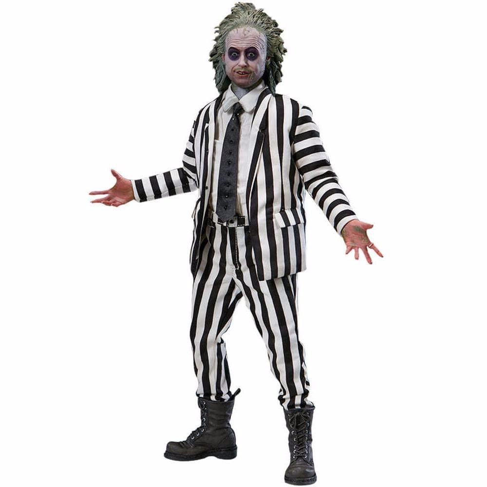 SIDESHOW beetlejuice striped suit 1/6
