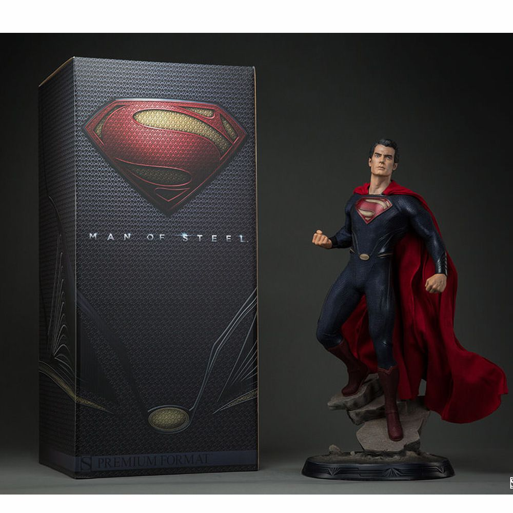 SIDESHOW MAN OF STEEL PREMIUM FORMAT