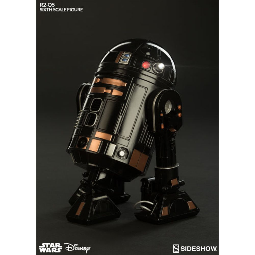 SIDESHOW R2-Q5 IMPERIAL ASTROMECH DROID STAR WARS 1/6