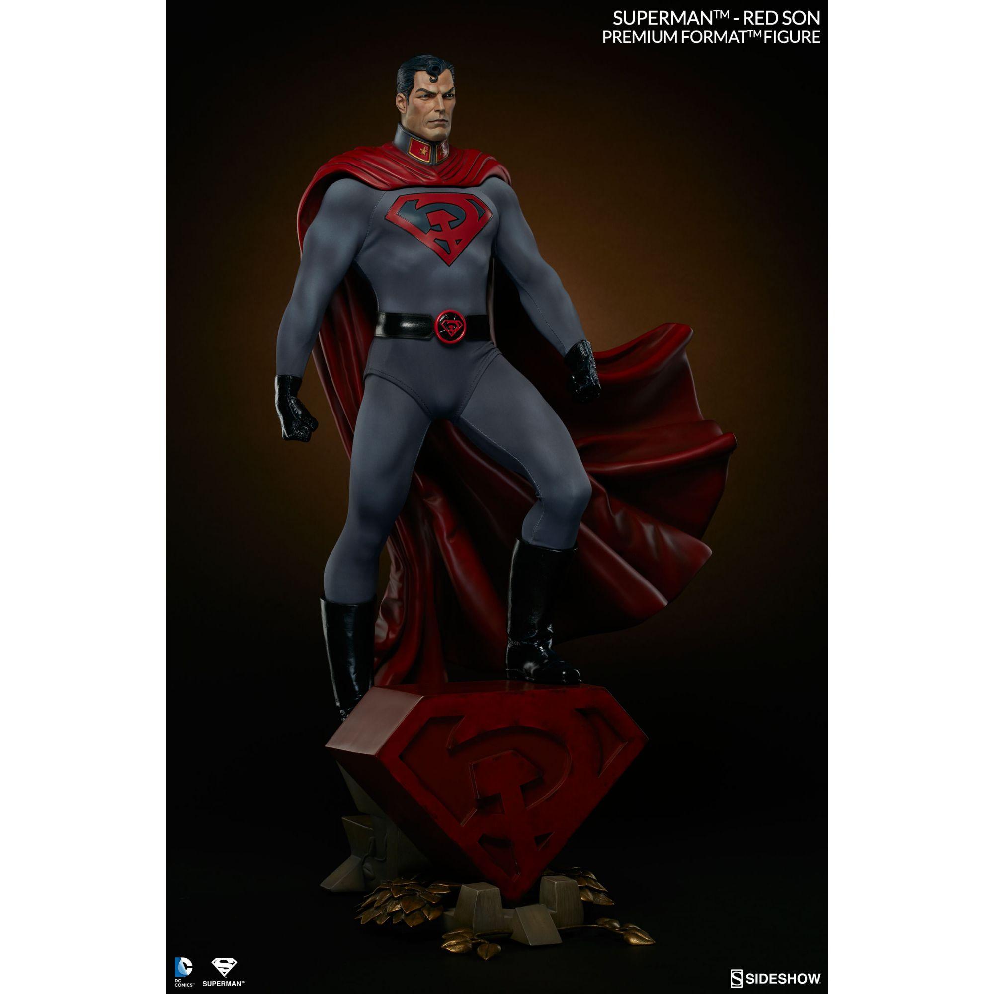 SIDESHOW SUPERMAN RED SON PREMIUM FORMAT SUPER MAN 1/4