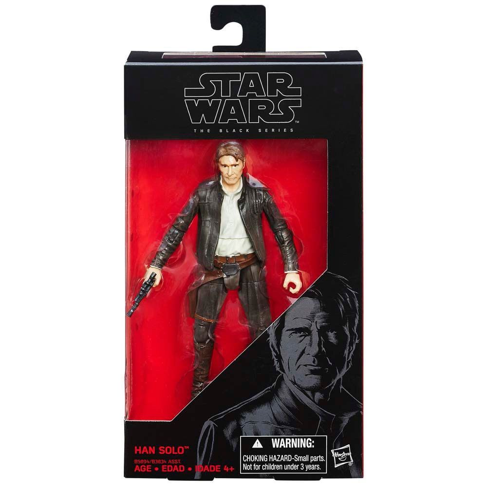 STAR WARS BLACK SERIES 6 HAN SOLO 18