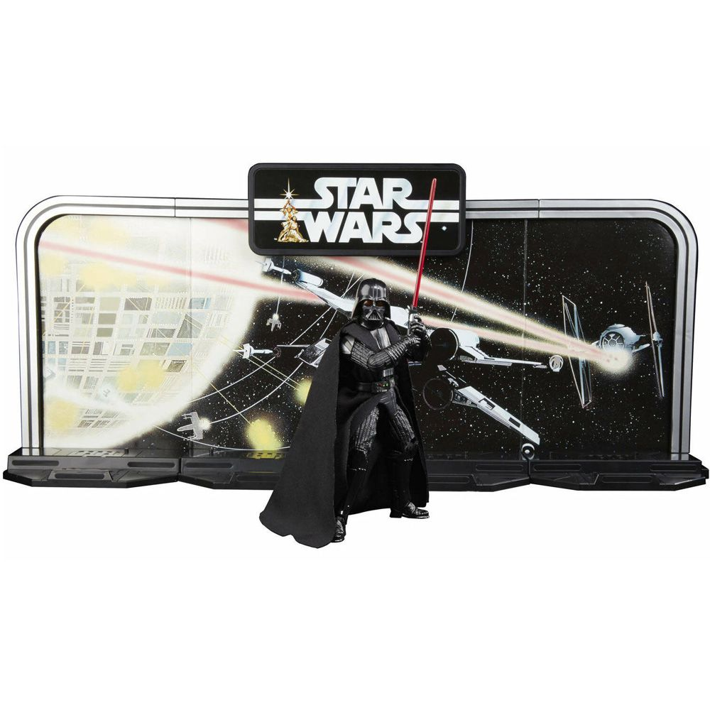 STAR WARS BLACK SERIES DARTH VADER 40TH SET BOX