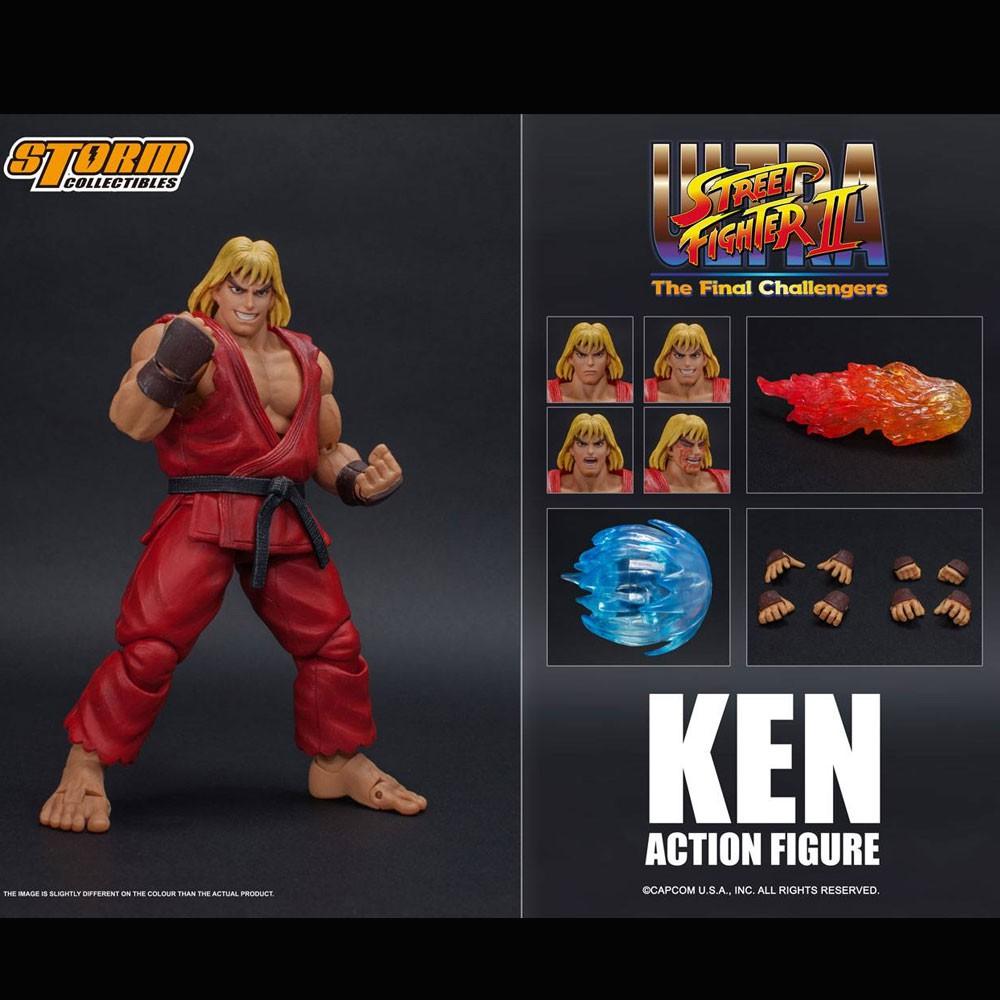 Storm Collectible Ultra Street Fighter Final Challengers Ken