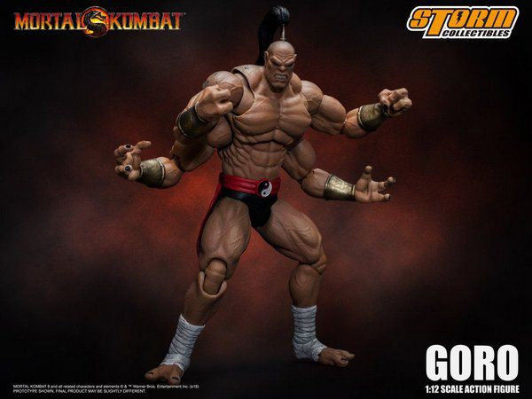 STORM COLLECTIBLES GORO MORTAL KOMBAT
