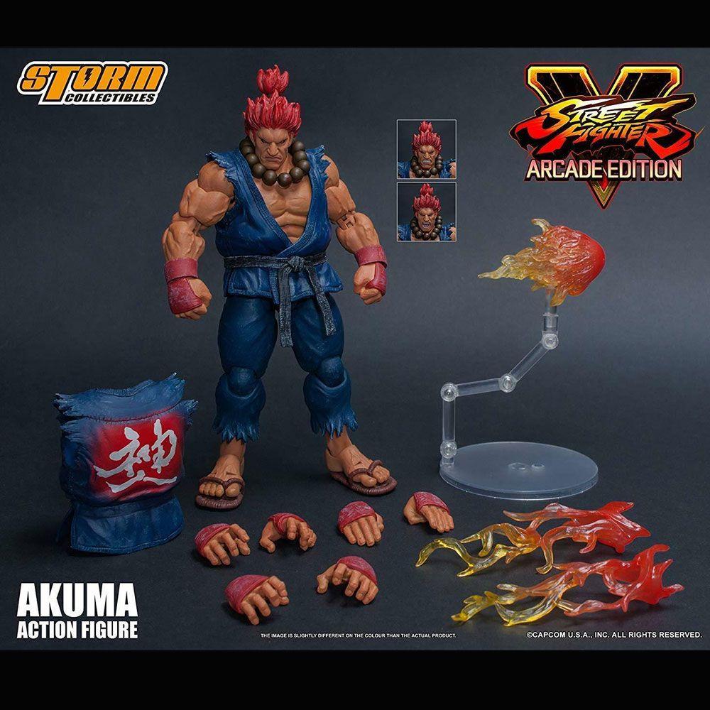 Storm Collectibles Street Fighter V Akuma ARCADE EDITION