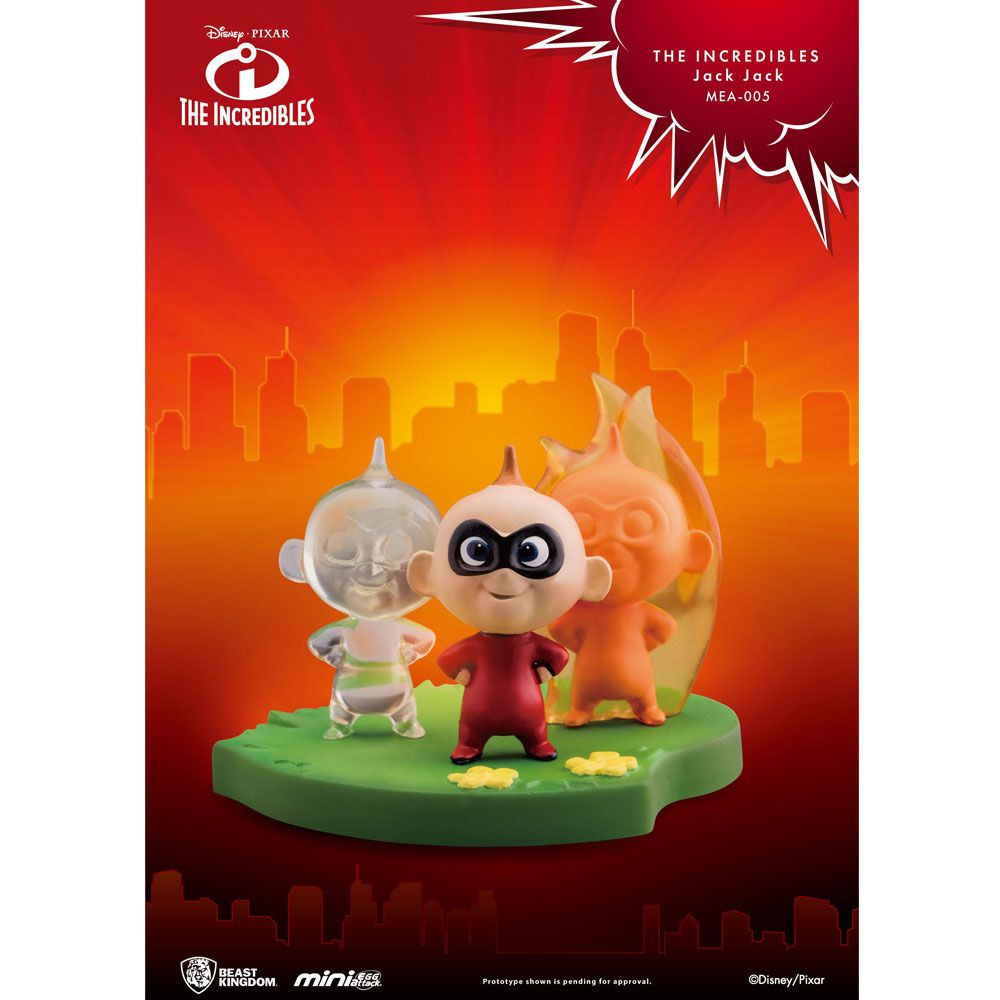 The incredibles Jack Jack Beast Kingdom  MINI EGG ATTACK