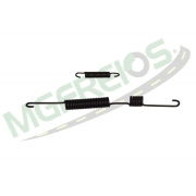 MG-2043 - Jogo de molas do freio (LD/LE) Hilux