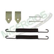 MG-2114 - Jogo de molas do freio (T) (1 roda) Bandeirante