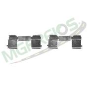 MG-2230 - Jogo de molas de alinhamento das pastilhas (T) 70C16, 70C17, 35S14 HD