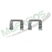 MG-2233 - Jogo de molas de alinhamento das pastilhas Hyundai HR