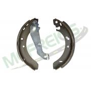 MG-507 - Jogo de sapata de freio c/ lona c/ haste (2 rodas) Ford Escort, Verona