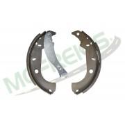 MG-543 - Jogo de sapata de freio c/ lona c/ haste (2 rodas) Fiat