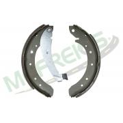 MG-560 - Jogo de sapata de freio c/ lona c/ haste (2 rodas) Citroen