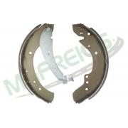 MG-561 - Jogo de sapata de freio c/ lona c/ haste (2 rodas) Jumper