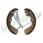 MG-575 - Jogo de sapata de freio c/ lona c/ haste (2 rodas) Hyundai
