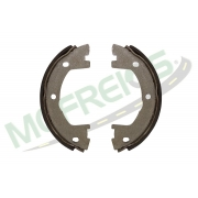 MG-577 - Jogo de sapata freio de mão c/ lona s/ haste (2 rodas) Iveco