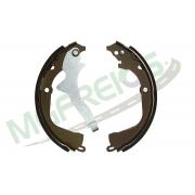 MG-583 - Jogo de sapata de freio c/ lona c/ haste (2 rodas) Amarok
