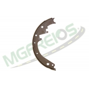 MG-591 - Sapata de freio s/ lona s/ haste C10,14,15
