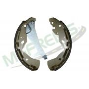 MG-612 - Jogo de sapata de freio c/ lona c/ haste (2 rodas) Nissan