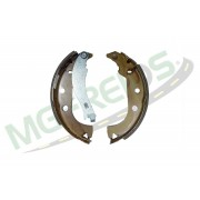 MG-615 - Jogo de sapata de freio c/ lona c/ haste (2 rodas)