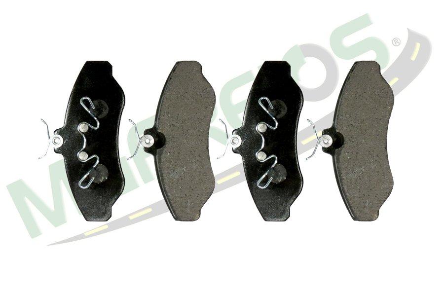 MG-1007 - Jogo de pastilhas de freio GM / Chevrolet