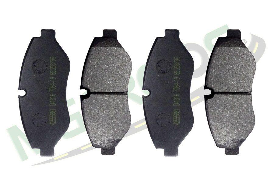 MG-1022 - Jogo de pastilhas de freio (D) Iveco
