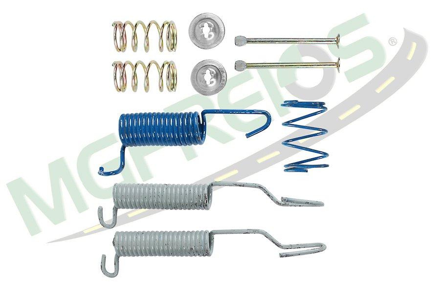 MG-2011 - Jogo de molas do freio (T) (1 roda) A, C, D10