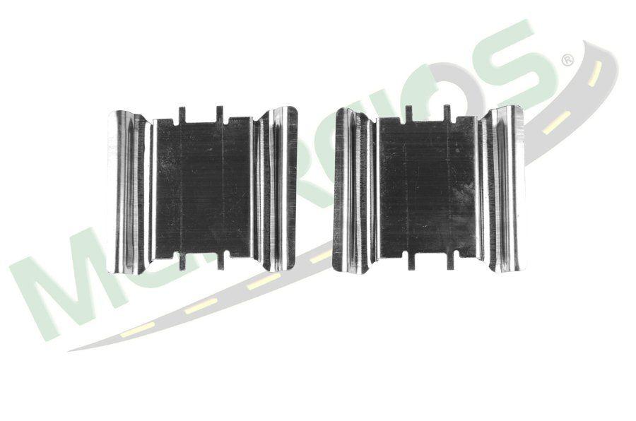 MG-2087 - Jogo de molas de alinhamento das pastilhas (D) (2 rodas) GM / Chevrolet