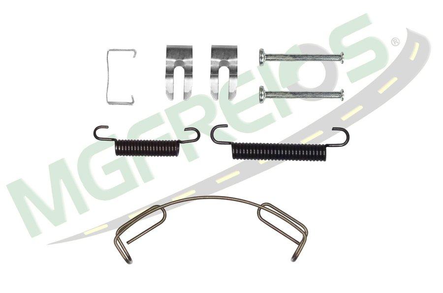 MG-2163 - Jogo de molas completo do freio Iveco Daily
