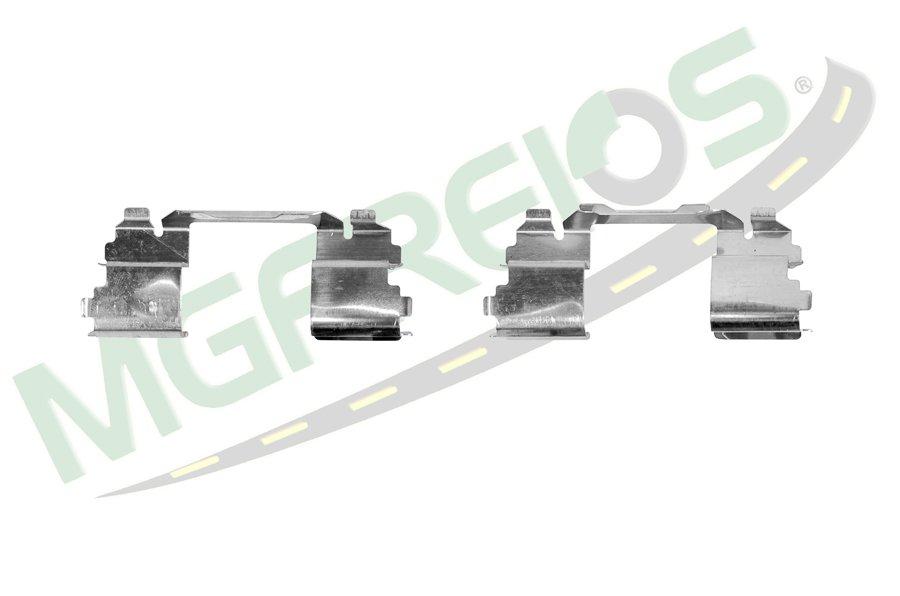 MG-2185 - Jogo de molas de alinhamento das pastilhas (D) Daily