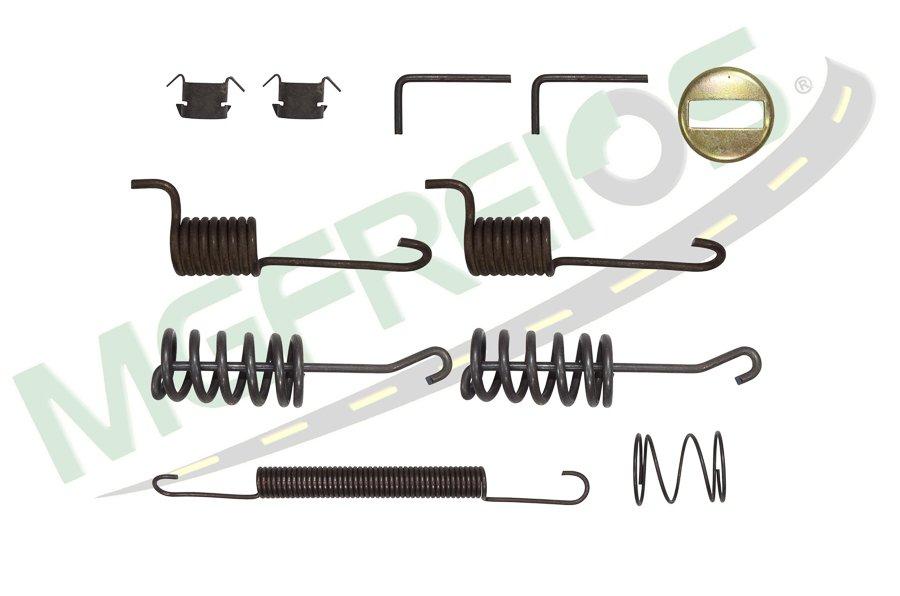 MG-2220 - Jogo de molas completo do freio (T) (1 roda) Iveco Daily