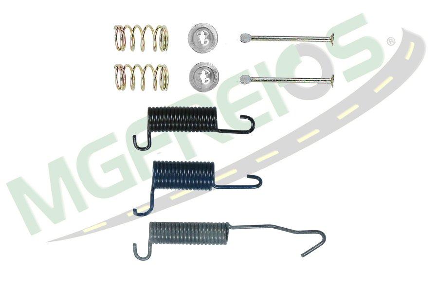 MG-2252 - Jogo de molas do freio (T) (1 roda) (LD/LE) Sprintes
