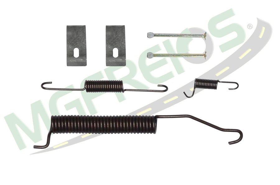 MG-2267 - Jogo de molas do freio (T) (1 roda) (LD/LE) Ford