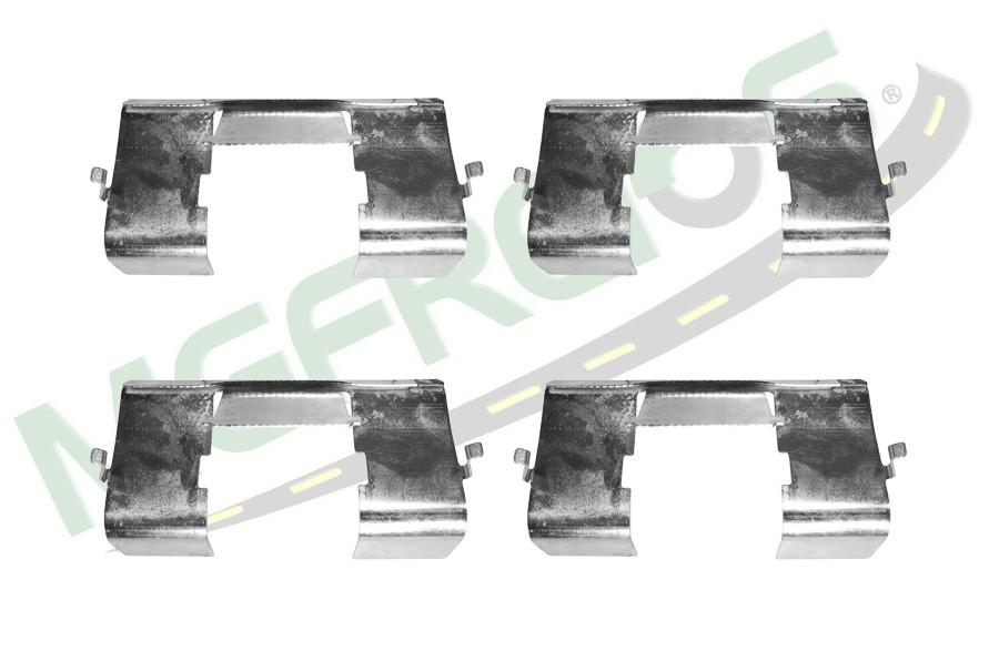 MG-2285 - Jogo de molas antirruído (1 roda) Fiat