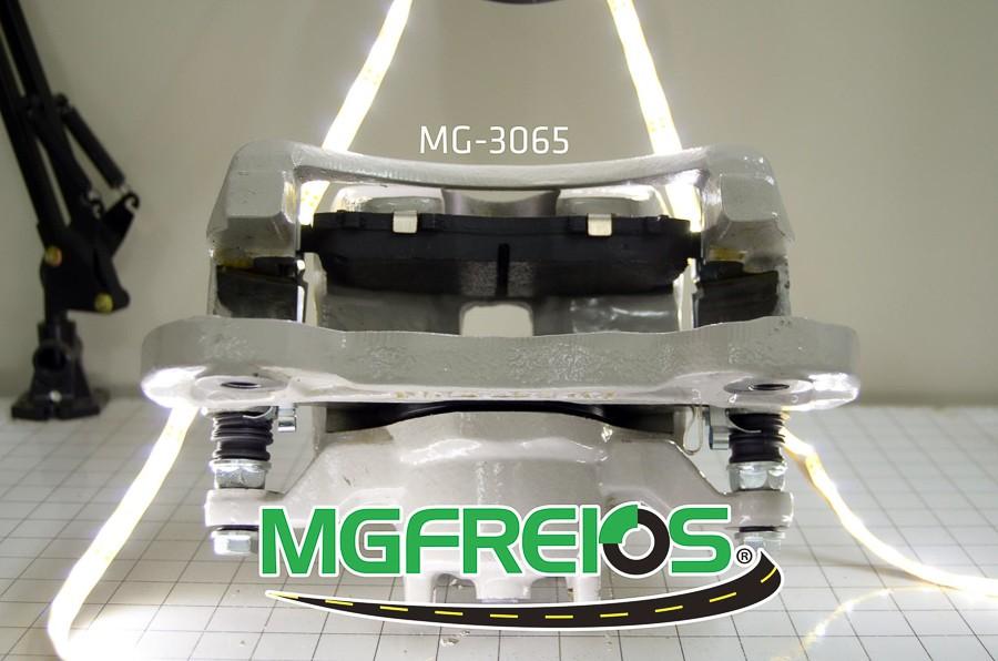 MG-3065 - Pinça de freio completa com pastilha (LD/LE) Mitsubishi
