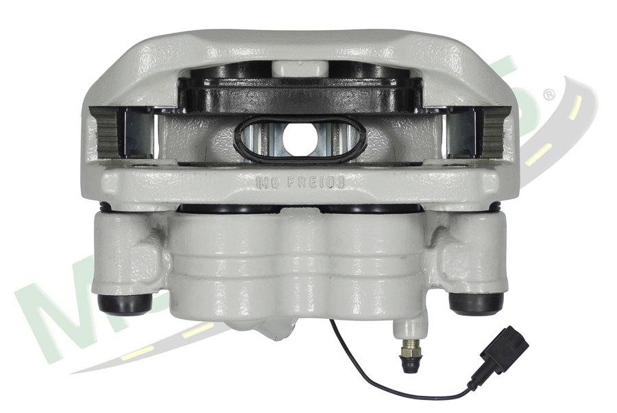 MG-3077 - Pinça de freio completa com pastilha (D) (LE) Jumper aro 16 (com ABS)