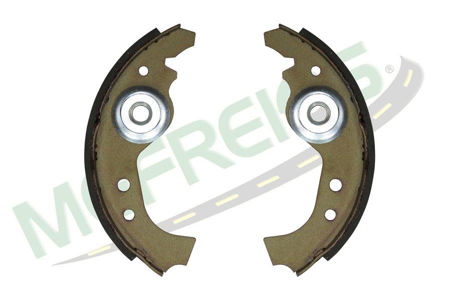 MG-559 - Jogo de sapata de freio c/ lona s/ haste (2 rodas) Fiat