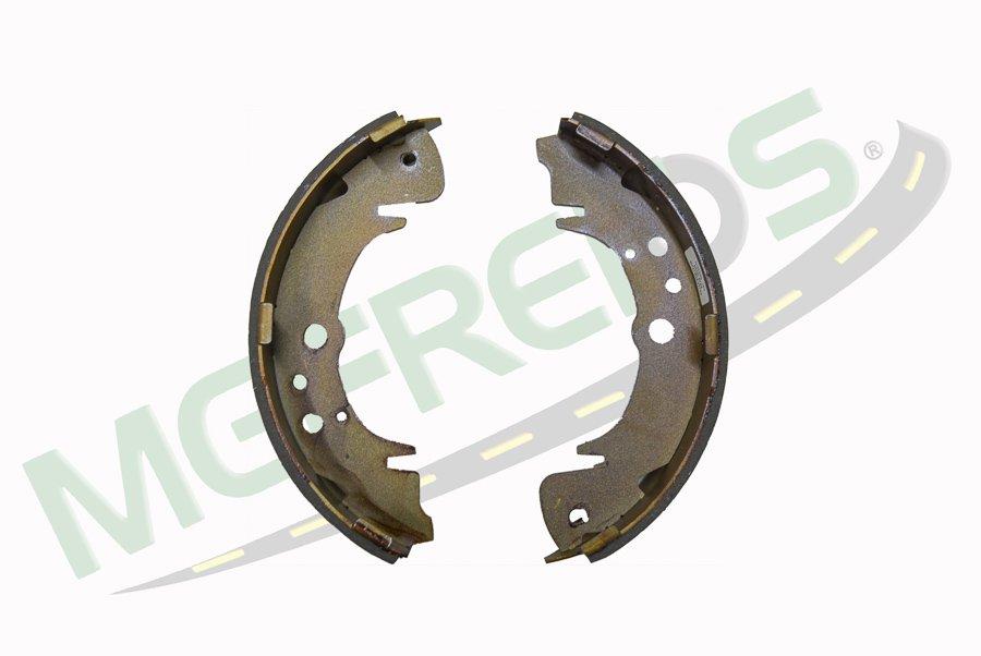 MG-606 - Jogo de sapata freio de mão c/ lona s/ haste