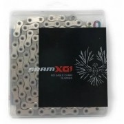 CORRENTE 12V SRAM PC-X01 EAGLE 126 ELOS PRATA